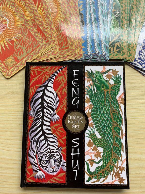 Feng Shui Buch Karten- Set