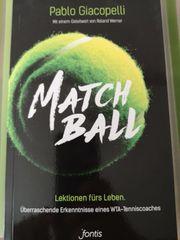Christliches Taschenbuch Matchball - Lektionen fürs
