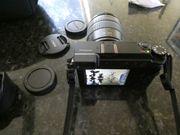 Panasonic GX 80 mit Objektiv