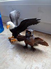 Schleich Adler und Uhu