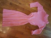 Damen Stickkleid Retro Vintage Oversize
