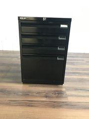 Bisley Standcontainer Metall schwarz
