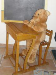 Vintage Schulschreibtisch