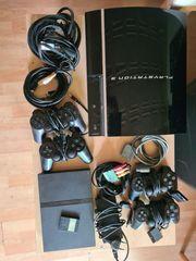 Komplett Paket PS2 PS3 Konsole