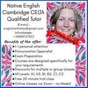 Online-Muttersprachler und qualifizierter Englischlehrer
