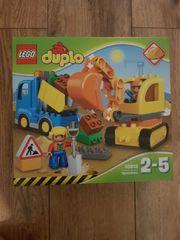 Lego Duplo Baustellenfahrzeuge neu