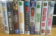 VHS Kassetten Filme Sammler Klassiker