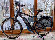 Gepflegtes E-Bike der Marke Haibike