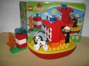 Lego Duplo Feuerwehrboot 10591