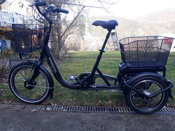 Lastenfahrrad E bike 3 Rad