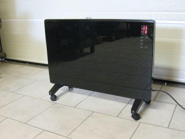 Elektroheizgerät Glasheizpanel von OBI