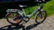 Kinder Fahrrad 20 Boomer weiss-lila