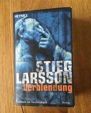 Buch Verblendung von Stieg Larsson