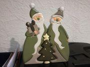 Weihnachtsmann Nikolaus 3 teilig wie