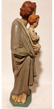 Heiliger Josef Christus Kind Statue