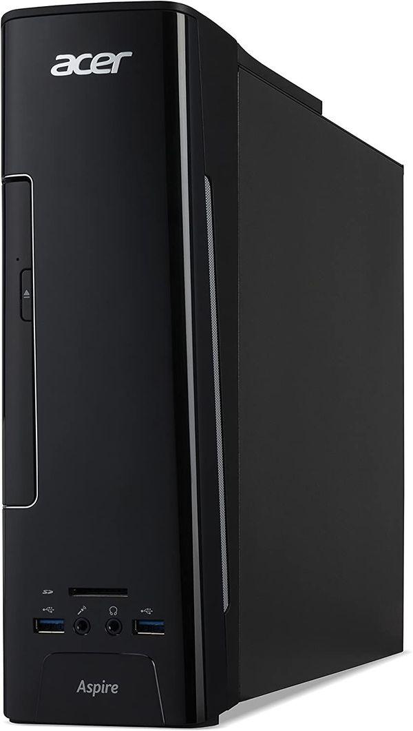 Acer Aspire XC-780 Desktop PC, Intel Core i5-7400, 8GB RAM, 128GB SSD, 1TB GB HDD, GT 1030