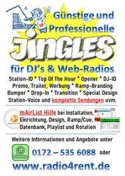 Top Radio-Jingles für WebRadios