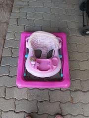 Lauflernhilfe in Pink für Mädchen