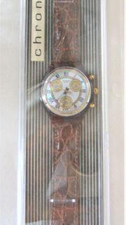 Swatch Armbanduhr Chrono Romain Vintage