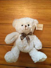 Kuscheltier weißer Teddy-Bär wie neu
