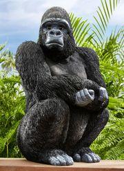Gartendeko Gorilla Affe Tier Deko