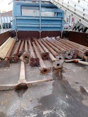 Stahlsprießen Schalungsstützen 16 Stück Baumaterial