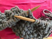 Wolle zum Stricken 12 Knäuel