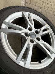 Alufelgen Winterreifen Bridgestone Audi A3