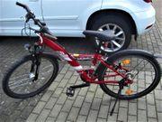 26 Zoll Jungend-Fahrrad rot von
