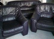 Ledersofa Couch Garnitur mi 2