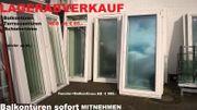 BALKON-TERRASSENTÜREN-FENSTER- SAMSTAG 10-15°° ABVERKAUF bis 80