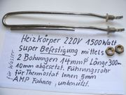 Heizkörper 220V für Warmwasserbereitung super