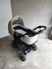 Teutonia Mistral Kinderwagen Jogger Babyschale