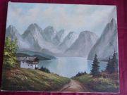 Ölgemälde Gemälde Bild Öl alt