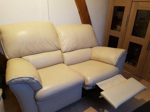 Ledercouch Ledersessel Sofa Couch Sessel