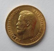 Nikolaus 2 Goldmünze Russland Zar