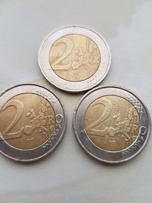 2 münzen fehlprägungen Raritäten