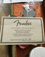 Fender 52 Telecaster Tele Thin