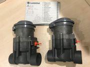2x Gardena Bewässerungsventil 1251-20 mit