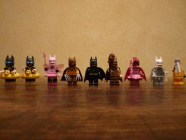 Spielzeug: Lego, Playmobil - LEGO Batman Sammelfiguren 7 Stück