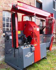 Sägespaltautomat Holzspalter Brennholzautomat Holzspalter Palax