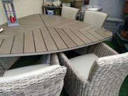 Exclusive Gartenmöbel - hochwertige Sitzecke Tisch
