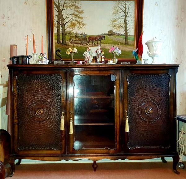 Chippendale Wohnzimmerschrank Sideboard mit Wiener