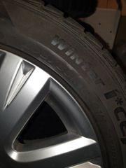 Winter Reifen mit Alufelgen