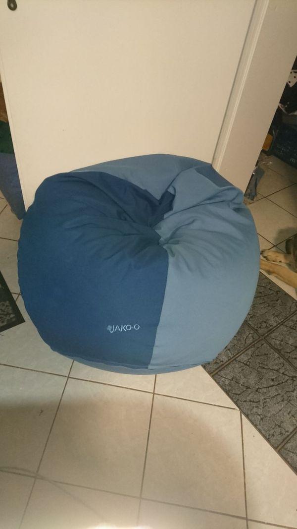Super bequemer blauer Sitzsack von