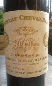 Chateau Cheval Blanc 1958