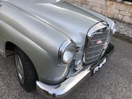 Oldtimer, Youngtimer - Mercdes Benz 180 Ponton von