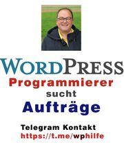 WordPress Programmierer sucht Aufträge