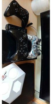 Wii U mit 4 controllern