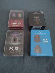 e-Zigarette vape set rda vendy